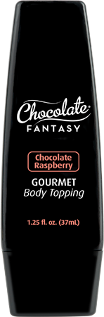 Chocolate Fantasy Gourmet Body Topping 37ml Chocolate Raspberry