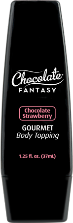 Chocolate Fantasy Gourmet Body Topping 37ml Chocolate Strawberry