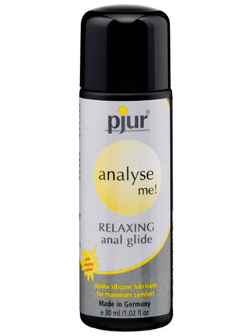 Pjur Analyse Me! Relaxing Anal Glide Jojoba Silicone Based Lubricant - 30ml