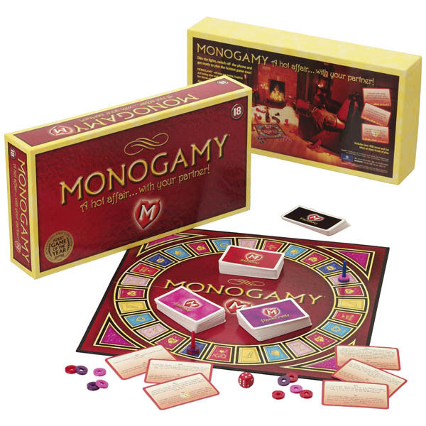 Monogamy A Hot Affair Adult Board Game