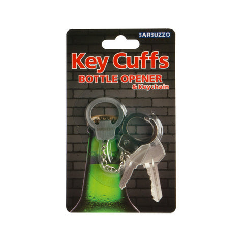 Key Cuffs Bottle Opener and Key Chain