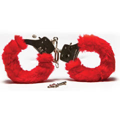 Furry Love Cuffs Red