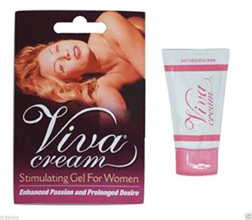 Viva Cream Female Arousal Gel 1 Sample Pack