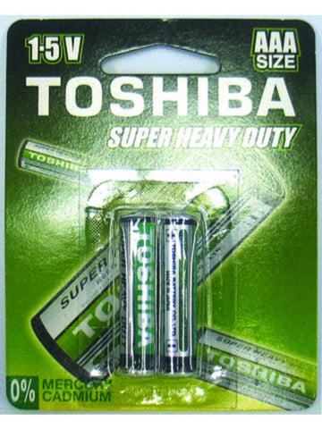 Toshiba AAA Super Heavy Duty Carded (4 pack)
