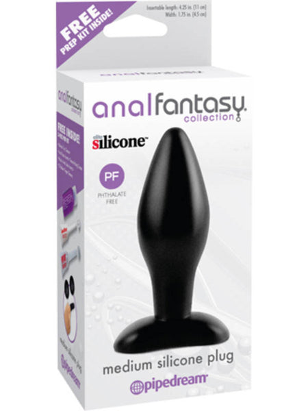 Anal Fantasy Collection Medium Silicone Butt Plug
