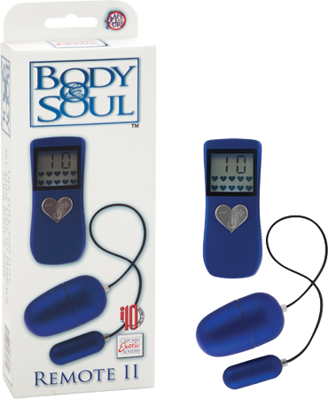 Body & Soul II Remote Control Double Bullets Blue