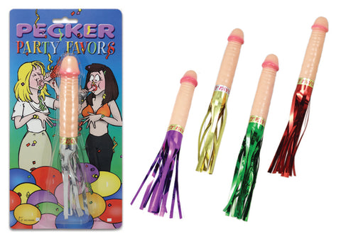 Pecker Party Favour Whistle/Blower Single