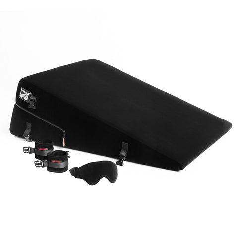 Liberator Black Label Ramp Black - Sex Position Support with Restraint Option