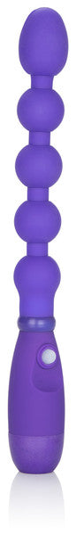 Booty Call Booty Bender - Waterproof Vibrating Anal Probe - Purple - 7""