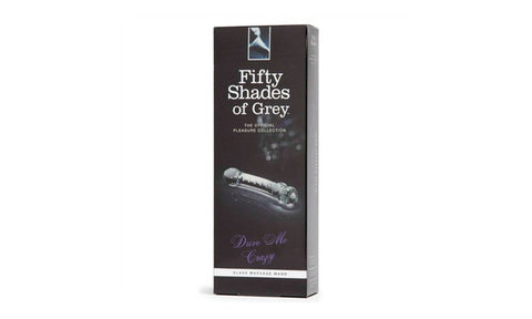 Fifty Shades Of Grey Drive Me Crazy Glass Massager