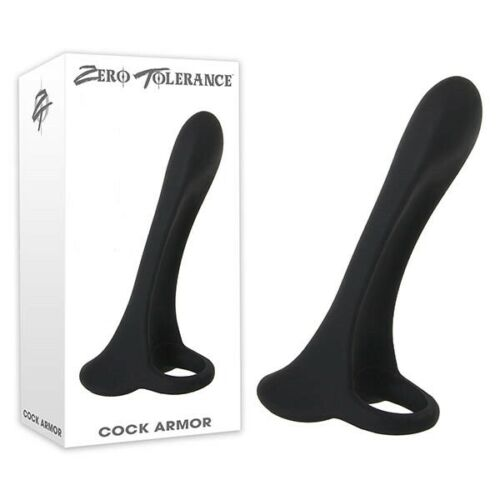 Zero Tolerance Cock Armor Vibrating Girth Enhancer