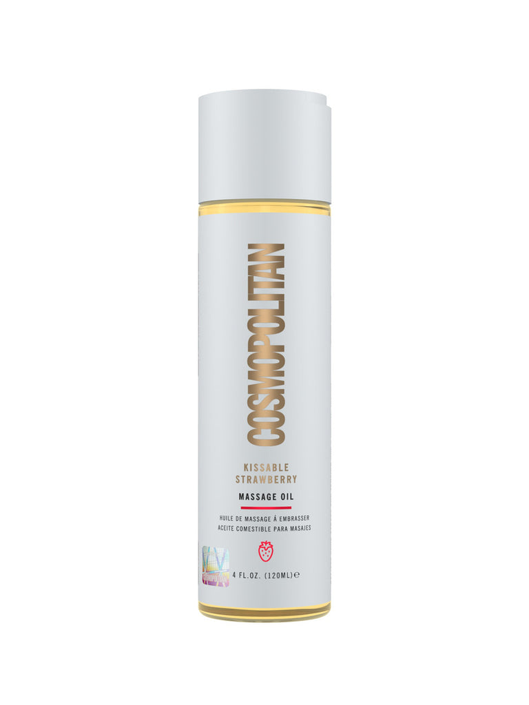 Cosmopolitan Kissable Strawberry Massage Oil