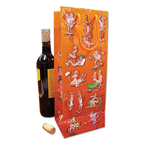 Ozze Wine Bag - Naughty Novelty Gift Bag - Couples Party Novelty