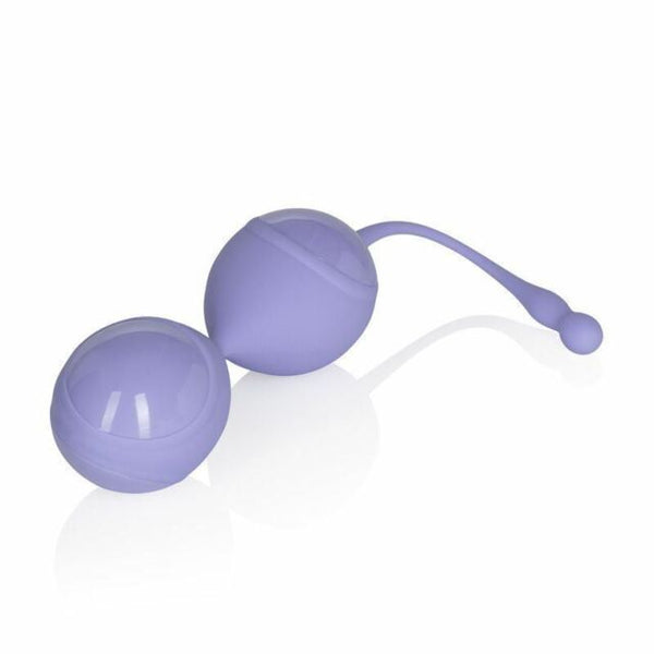 Couture Collection Eclipse Weighted Kegel Balls Purple