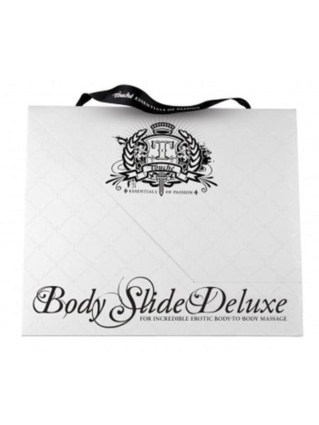 Touche Body Slide Deluxe Includes Inflatable King Size Play Mat and Massage Oil Concentrate