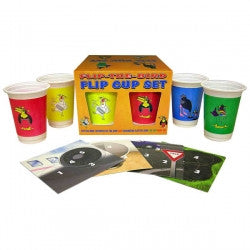 Flip-The-Bird Flip Cup Set