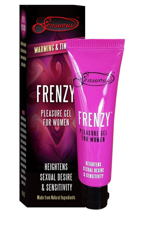 Frenzy Pleasure Gel for Women Heightens Sexual Desire & Sensitivity 7ml