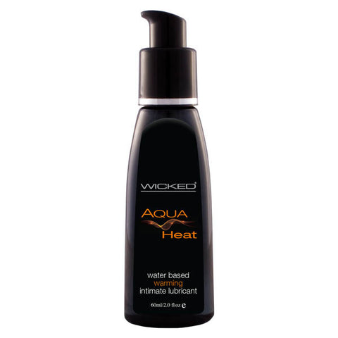 Wicked Aqua HEAT Warming Water Based Lubricant 60ml