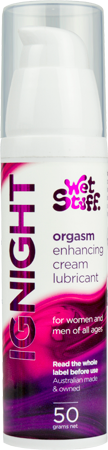 Wet Stuff Ignight Orgasm Enhancing Cream Lubricant (50g)