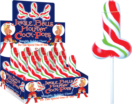 Jingle Balls Holiday Cock Pop (One Cock Pop)