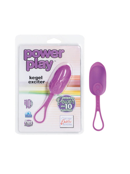 Power Play Multi-functional Vibrating Kegel Exciter - Purple