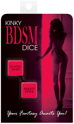 Kinky BDSM Dice Game - Your Fantasy Awaits You