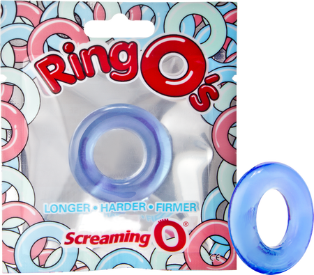 Screaming O RingO Blue Penis Ring