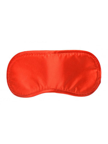 La Boheme Satin Love Mask - Red