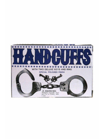 Metal Hand Cuffs with Quick Release & Keys