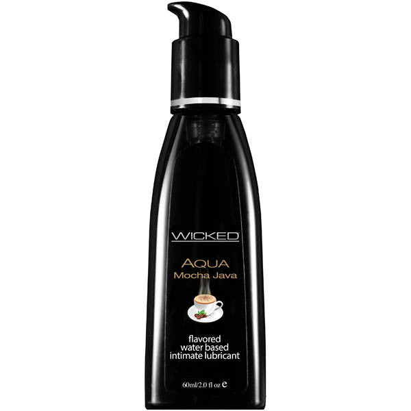 Wicked Aqua Flavoured Lube 60ml - Mocha Java