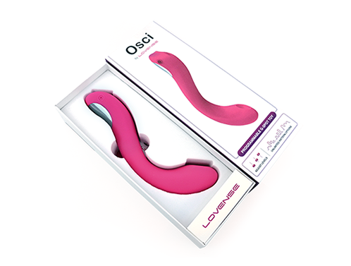Osci By Lovense - Oscillating G-spot Toy - Pink