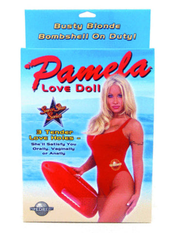 Pamela Inflatable Love Doll With 3 Tender Love Holes - Busty Blonde Bombshell On Duty!