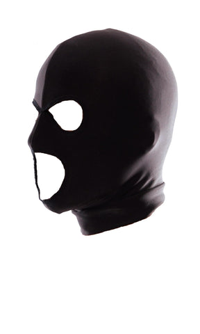 Fetish Fantasy Series Spandex 3 Hole Hood