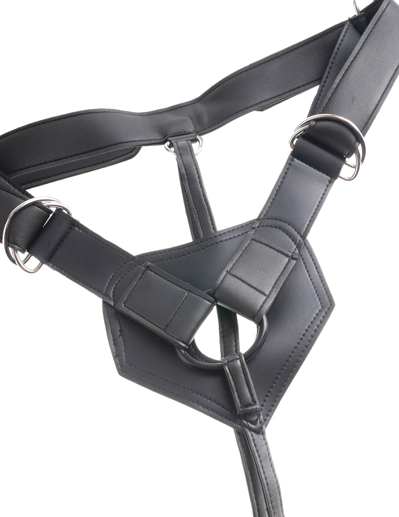 King Cock Strap-On Harness with 7 in. Cock - Flesh