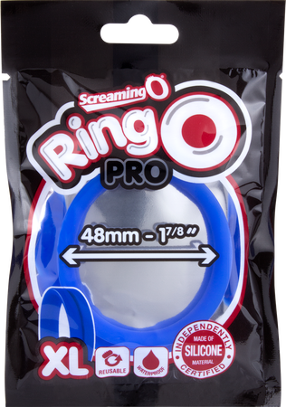 Screaming O RingO Pro XL Penis Ring - Blue