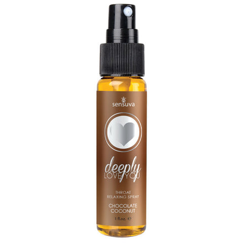 Deeply Love you Throat Relaxing Spray Chocolate Coconut