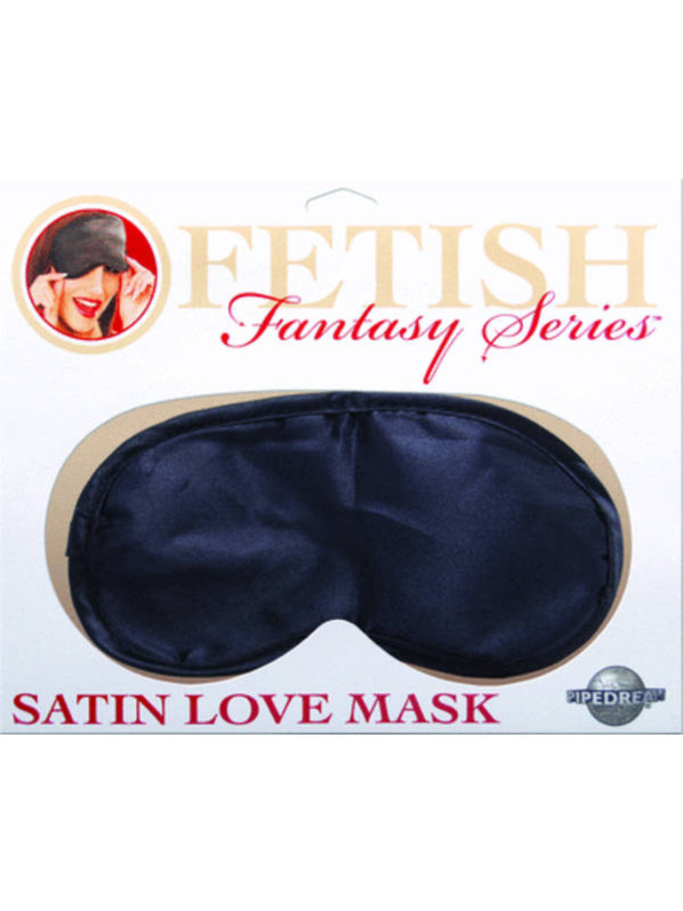 Fetish Fantasy Satin Love Mask Black