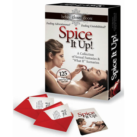 Behind Closed Doors - Spice It Up! Couples Game Try Something New Tonight A Collection Of Sexual Fantasies & 'What If' Scenarios