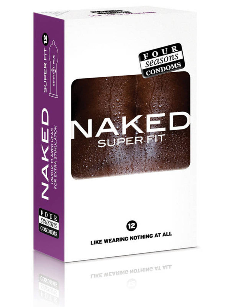 Four Seasons Naked Super Fit Sport - 12 Pack Condoms - TGA 144896