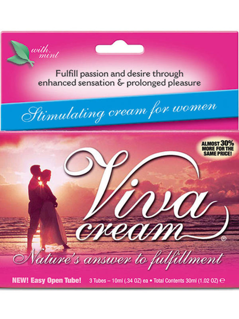Viva Cream Female Arousal Gel 10ml 3 Tube Box