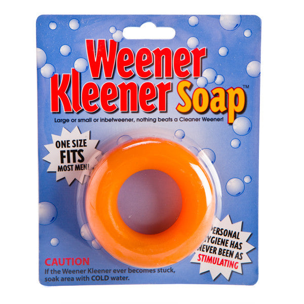 Weener Kleener Soap Gag Gift Bucks Party