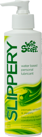Wet Stuff Slippery Stuff Water Based Lubricant - Pump (270g)