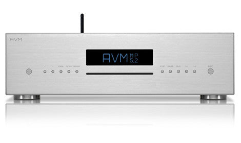 AVM Evolution MP 5.2 CD-Player with High-End-Streaming and 6 digital inputs