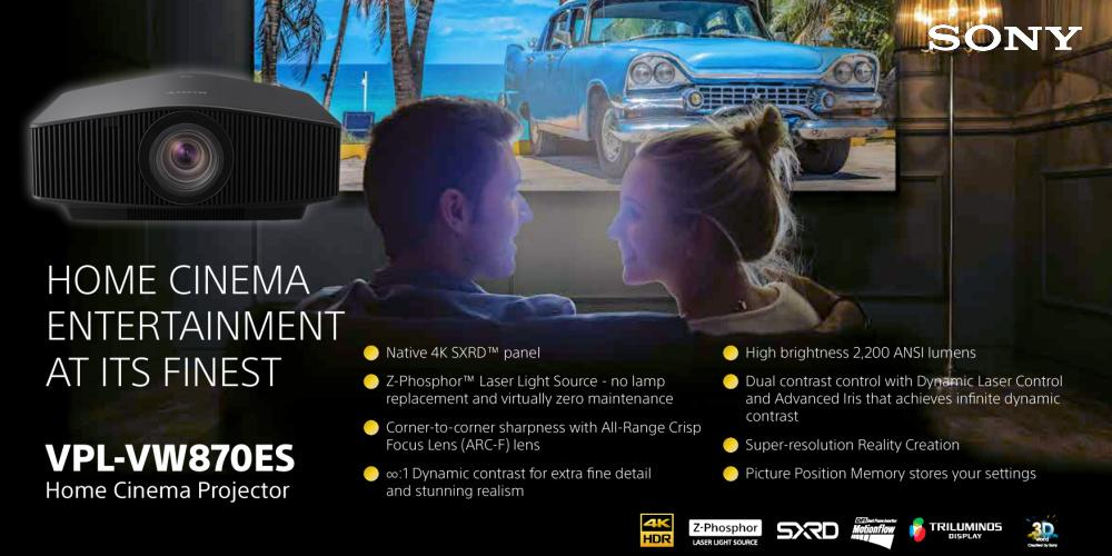 Sony Home Cinema Projectors
