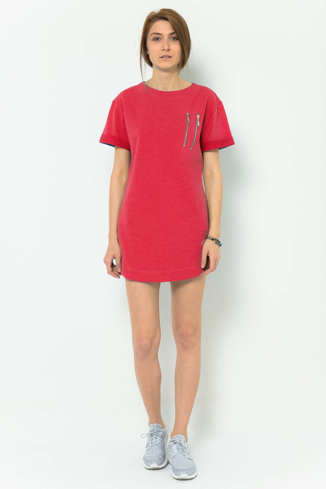 Hemingway + Coffee T-Shirt Dress - Sunrose