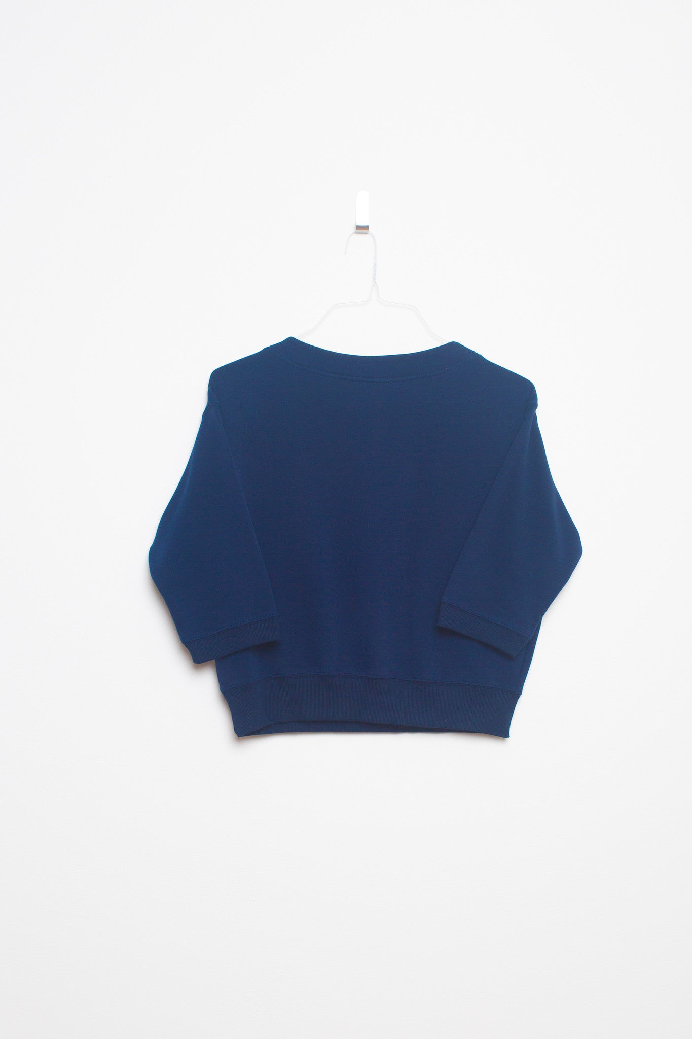 Easy Sunday 3/4 Sleeve Sweater - Out At Sea