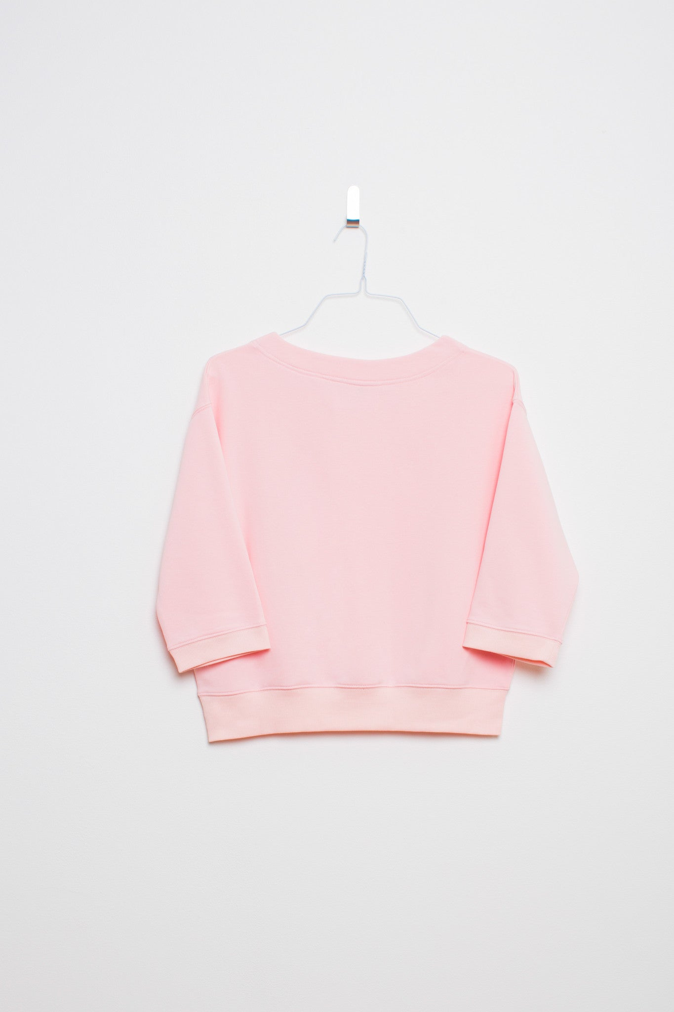 Easy Sunday 3/4 Sleeve Sweater - Cherry Blossom