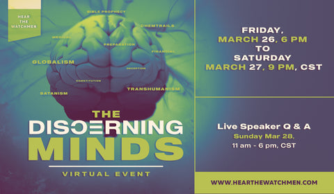 Discerning Minds On-Demand Conference. Release date 3/26/2021