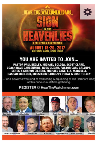 "Hear the Watchmen Boise Idaho ""Signs in the Heavenlies"""