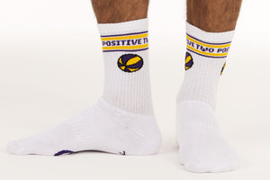 B-Ball Socks White